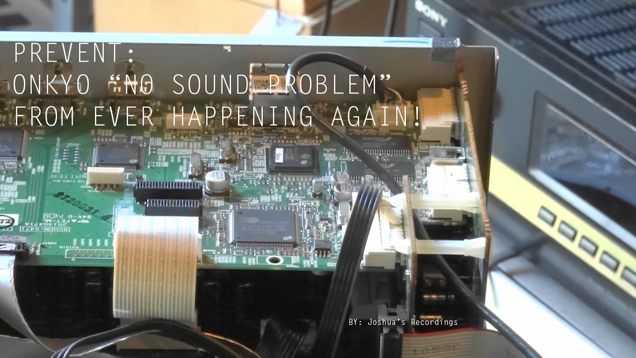 How To: Prevent Onkyo