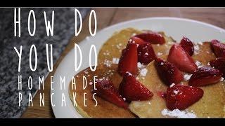 Chocolate Chip Pancakes: Homemade Goodness