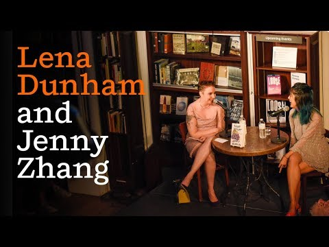 An Evening with Jenny Zhang and Lena Dunham to launch LENNY Books