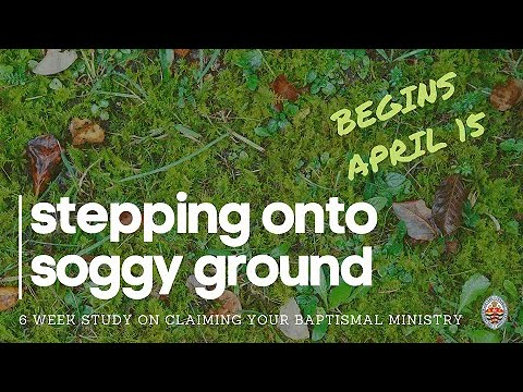 Introduction to Stepping onto Soggy Ground: 6 Week Series on Claiming Your Baptismal Ministry