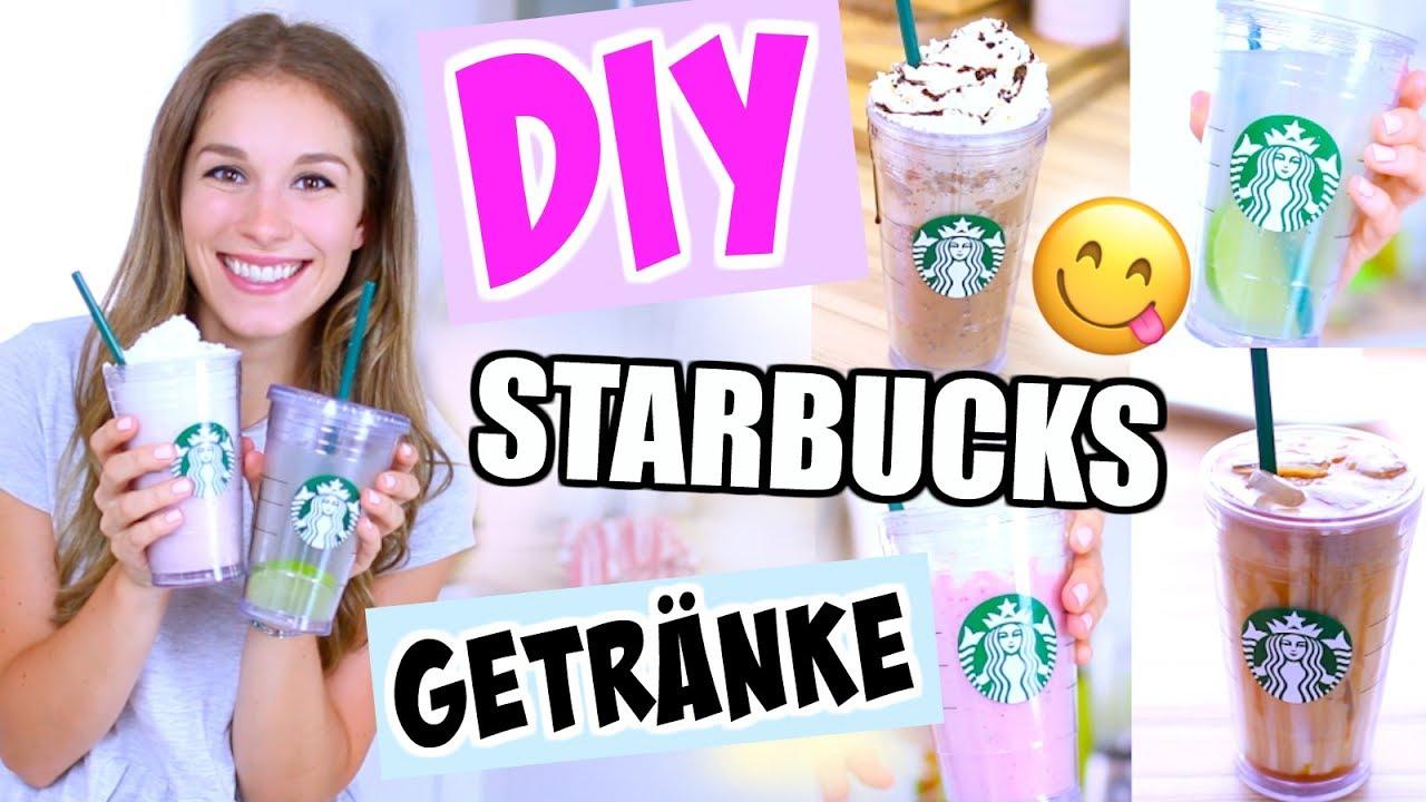 DIY Starbucks Getränke in 5 Minuten! Mega einfach + günstig ...
