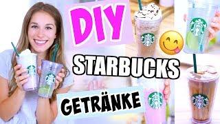 DIY Starbucks Getränke in 5 Minuten! Mega einfach + günstig! ♡ BarbaraSofie