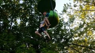 Watch Rescuers Save 14-Year-Old Who Fell 25 Feet From Six Flags Ride