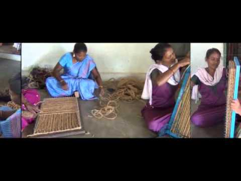 Coconut Coir Mat Weaving - Vellore
