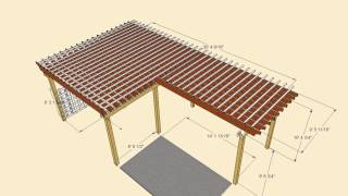 Pergola Rendering For Homeowner