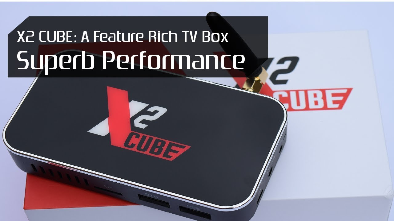UGOOS X2 CUBE Amlogic S905X2 Android 9 Pie TV Box Review