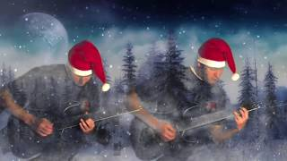 Heavy metal Santa Claus is coming to town song - Jeroen