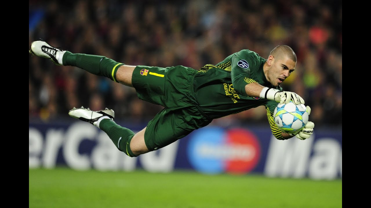 Victor Valdes ○Best saves 2012 15○ FC Barcelona
