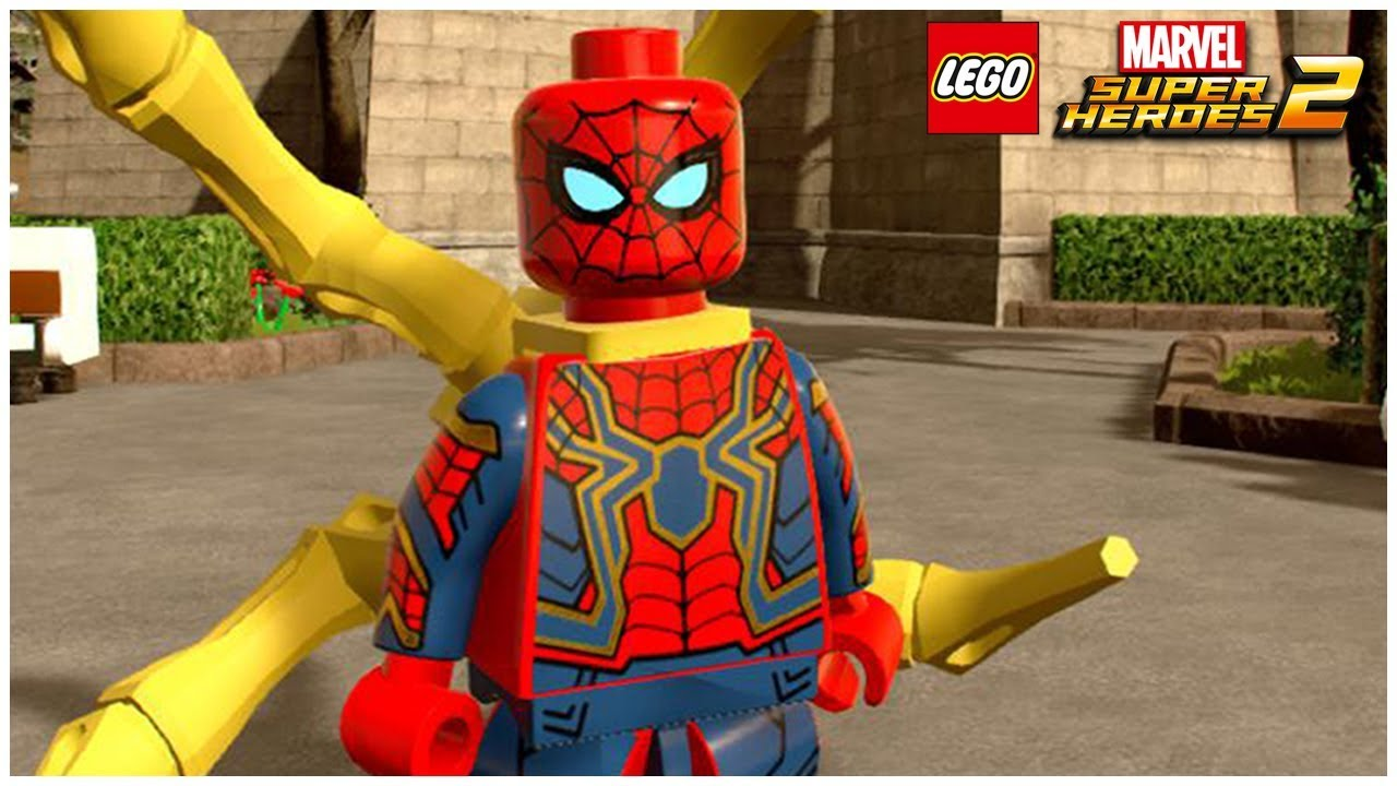 IRON SPIDER (INFINITY WAR) - LEGO Marvel Superheroes 2 ...