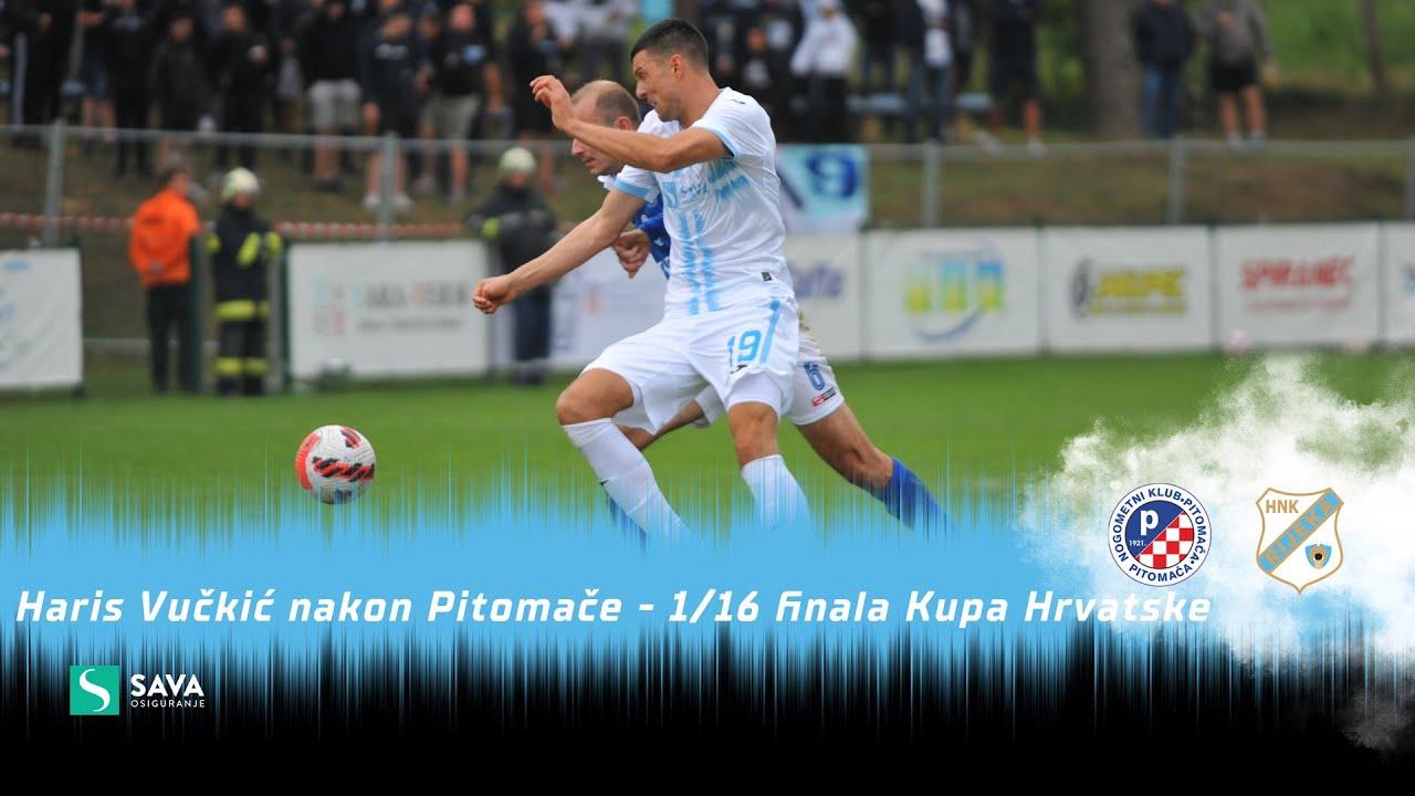 Haris Vučkić nakon Pitomače - 1/16 finala Kupa Hrvatske (2021./2022.)