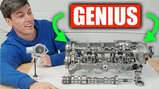 The World's First CVVD Engine - Genius!
