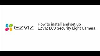 Ezviz LC3 4MP HD A.i 2-Way Audio Smart Security Wall-Light Security Camera video