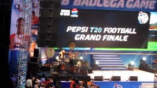 IPL T20 FOOTBALL - drummer sivamani