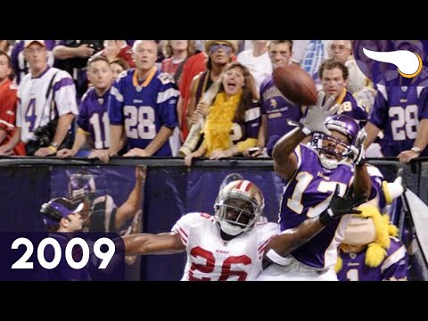 """The Minneapolis Miracle"" 49ers vs. Vikings (Week 3, 2009) Classic Highlights"