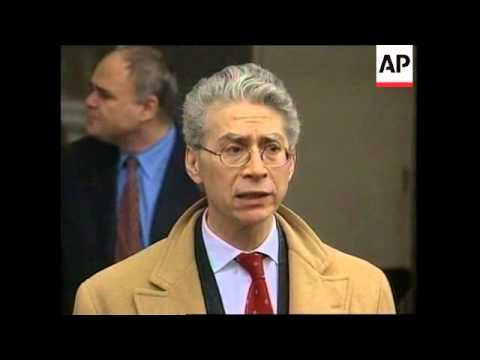 USA: NEW YORK: BORODIN AT COURTHOUSE 2