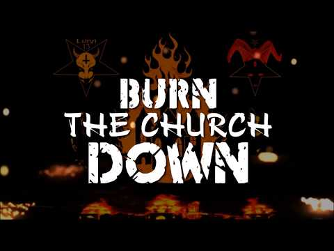 Luna 13-Burn The Church Down (Lyric Video) {Black/Bass/Metal} 8/8/18