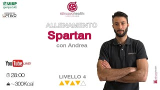 Spartan Training - Livello 4 - 2  (Live)