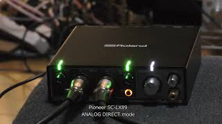 tEAC AX-505 (  2:47 ) vs. PIONEER SC-LX89, Analog Direct mode ( 2:48  ) , Part 2