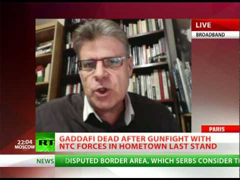 'Killing Gaddafi easy cover-up for West deals'