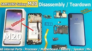 Samsung Galaxy M20 Ochish uchun Qanday /Samsung M20 Teardown || M20 Disassembly Galaxy
