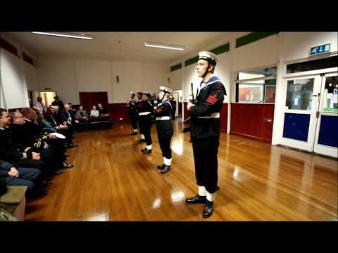 Oxford Sea Cadets Show Their Drill Skills