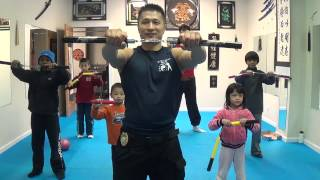 FMK Beginners Nunchaku Training For Kids