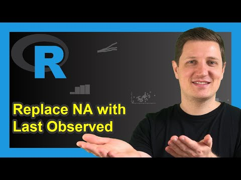Replace NA with Last Observed Value in R (Example) | na.locf Function