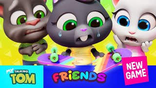 🛹 Crazy Skateboarding Tricks With My Talking Tom Friends (NEW GAME Official Trailer 2) 💥