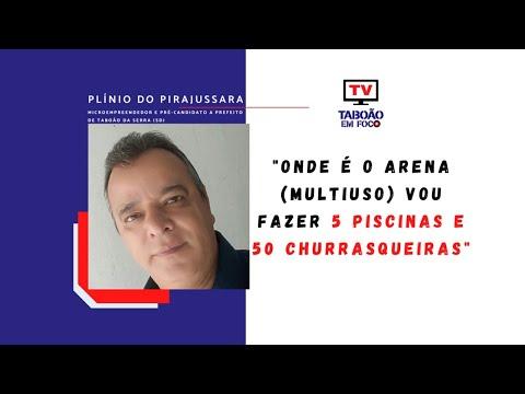 Entrevista com Plínio do Pirajussara, pré-candidato a prefeito de Taboão da Serra