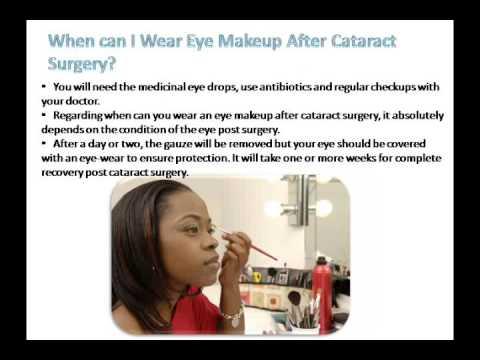 How to Wear Eye Makeup After Cataract Surgery