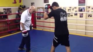 Тренировка Виктора Постола