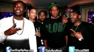 Meek Mill - Lay Up (Remix) ft. Jay-Z, Rick Ross & Trey Songz (Dirty/CDQ)