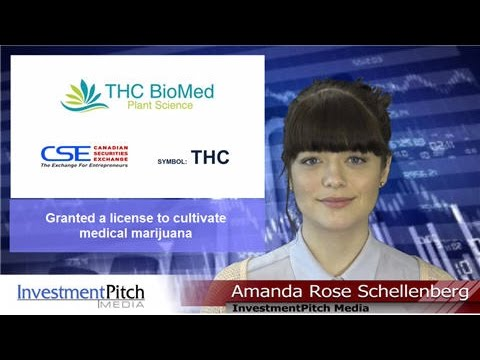 THC BioMed Intl Ltd (CSE:THC) granted a license to cultivate medical marijuana