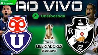 Universidad de Chile 0x2 Vasco   Libertadores 2018   6ª Rodada   22/05/2018
