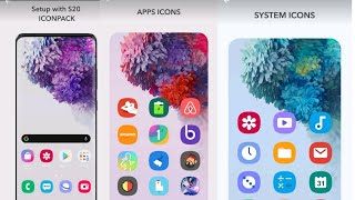 Install Latest S20 Ultra Theme & Icon packs Every Android devices || S20 Look All Android