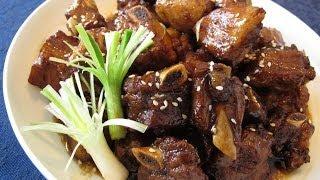 鎮江糖醋排骨 - Fried Spare ribs in Chinkiang Style