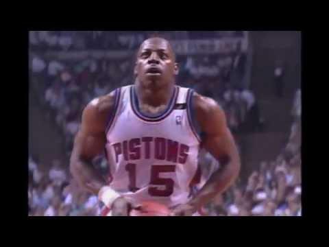 Vinnie Johnson Lights Up Michael Jordan and Company (1989 Playoffs)