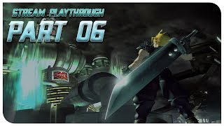 Final Fantasy VII [Stream Playthrough/GER] | Part 6 | Metax