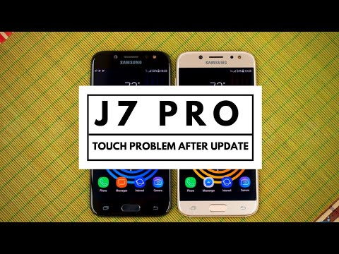 Samsung J7 Pro Touch Problems After OTA Update | Techno Rohit |