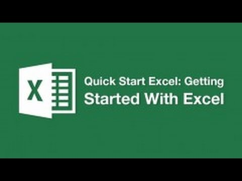 Introduction To Excel - How To Add Titles and Subtitles (Formatting Text)