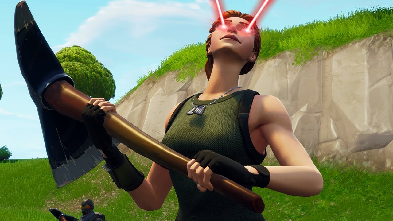 Acting Like A Default Skin Then Carrying Youtube