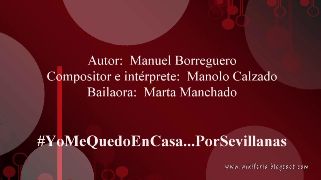 #YoMeQuedoEnCasa...PorSevillanas