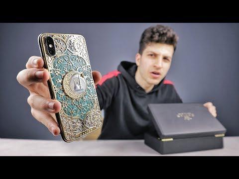 أغلي موبايل جربته في حياتي - iphone XS Gold 24k