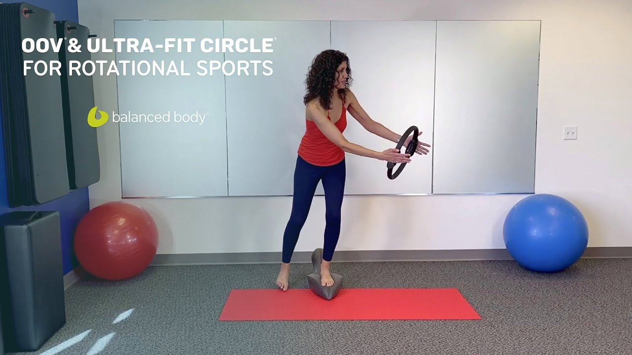 Oov® & Ultra-Fit Circle® For Rotational Sports