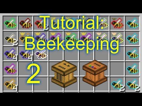 minecraft-tutorial:-beekeeping-[hd]-(forestry-mod)--#2--carpenter-&-squeezer