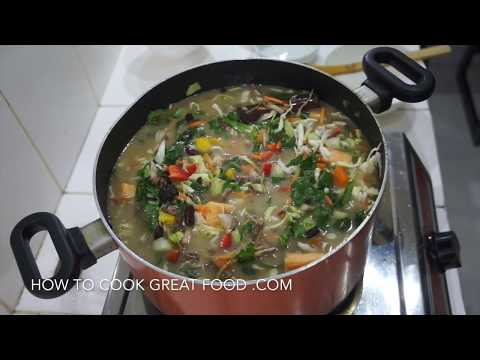 Homemade Chicken Noodle Soup - Flu Fighter Chicken Soup - West Indian Jamaican Caribbean Style Mp3