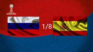Россия Испания 1 0 Обзор матча 1 8 финала Чемпионата Мира по футболу FIFA в России