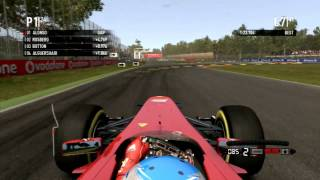 F1 2012 Commentary + Italian GP Review (F1 2011 Gameplay)