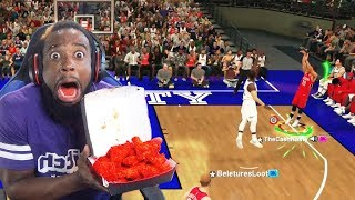 Download Every 3 Pointer Playoffs Stephen Curry Misses I Eat WORLDS HOTTEST WINGS! NBA 2K19 Mp3 and Videos