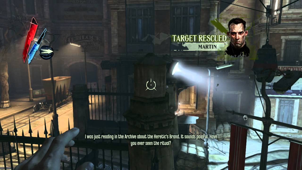 dishonored 2 how to get sokolov out without getting detected